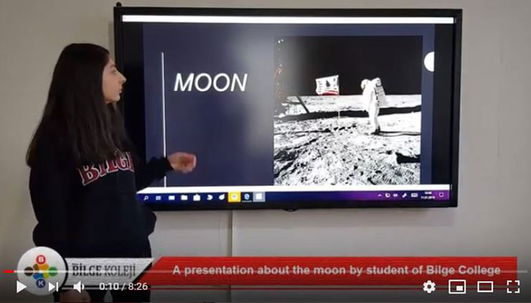 A PRESENTATİON ABOUT THE MOON